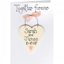 Personalised Together Forever Card