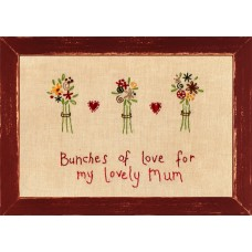 Bunches of Love Personalised Picture