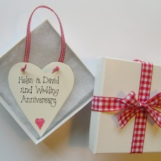 Personalised Anniversary Love Token