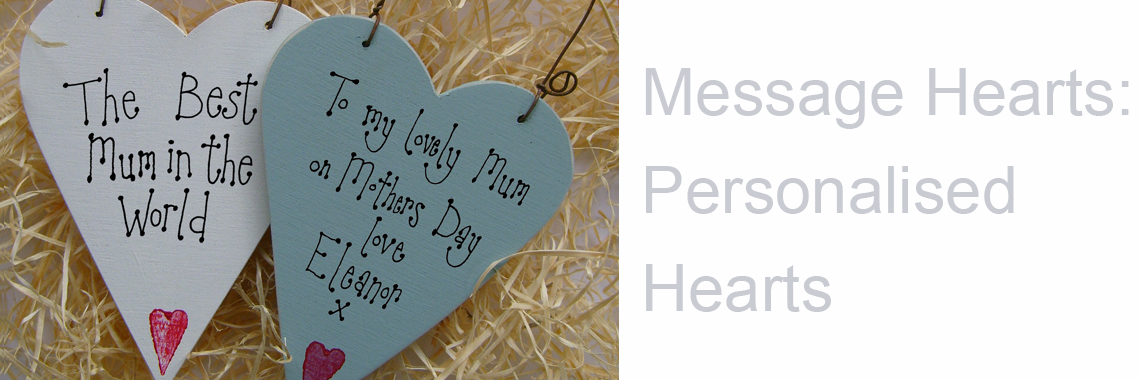 Message Hearts: Personalised Hearts