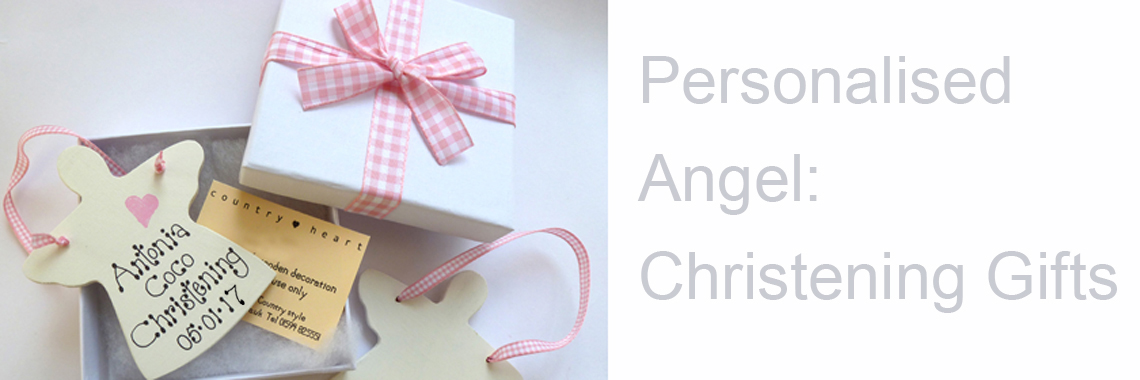 Personalised Angel: Christening Gifts