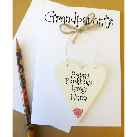 Grandparents Personalised Birthday Card