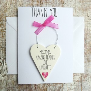 PERSONALISED TEACHERS THANK YOU CARD