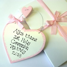 Girls Personalised Holy Communion Gift Box