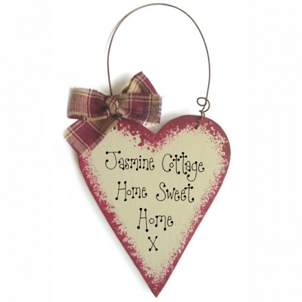 Personalised Message Heart