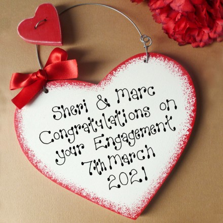 Personalised Engagement Sign