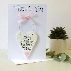 Mother Of The Bride Thank You Card