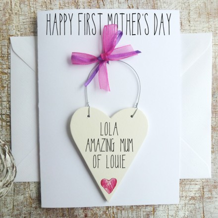 First Mothers Day Personalised Card