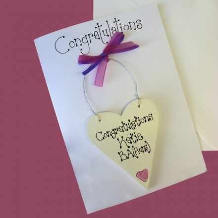 Congratulations Personalised Card