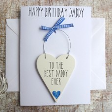 HAPPY BIRTHDAY DAD PERSONALISED CARD