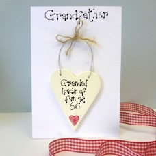 Grandfather Personalised Birthday Card