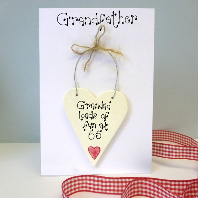 Personalised Grandfather Birthday Card