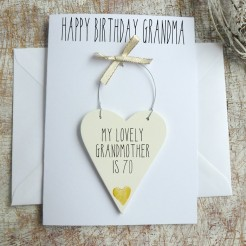 Personalised Grandma Birthday Card