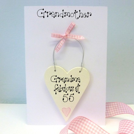 Grandmother Personalised Birthday Card