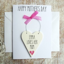 Happy Mothers Day Personalised Card