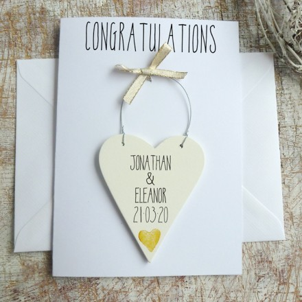 Hitched Wedding Day Card