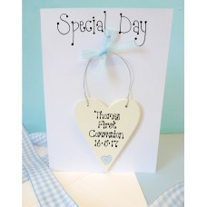Holy Communion Personalised Card