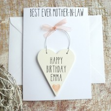 Personalised Mother-in-Law Birthday Card