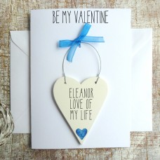 PERSONALISED VALENTINES CARD FOR HER