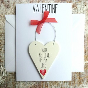 PERSONALISED VALENTINES CARD FOR HIM
