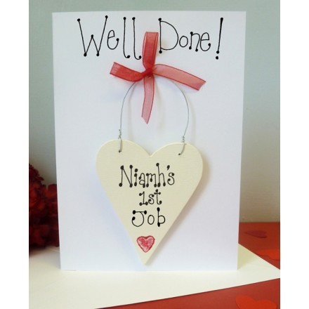 Personalised Well Done Card