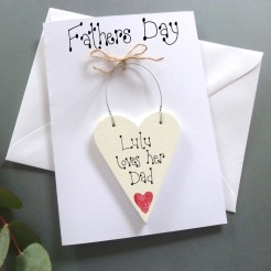 Personalised Fathers Day Card