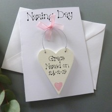 Personalised Naming Day Card