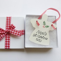 Personalised Christmas Angel Gift Box