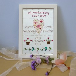 1st Wedding Anniversary Sampler