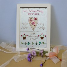 3rd Wedding Anniversary Sampler