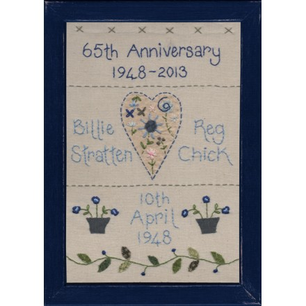 65th Wedding Anniversary Sampler