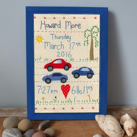 Baby's Birthday Picture (Cars)