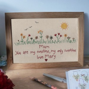 Summer Days Personalised Picture