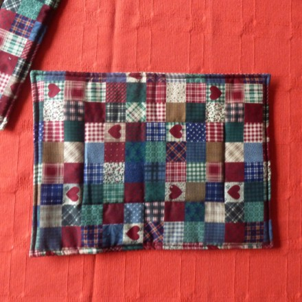 Patchwork Quilted Placemats set of 2