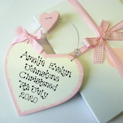 Girls Personalised Christening Gift Box