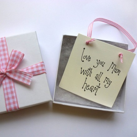 Personalised Mini Sign Gift Box