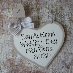 Personalised Wedding Day Sign