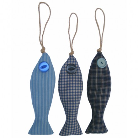 Lavender Fish set of 3