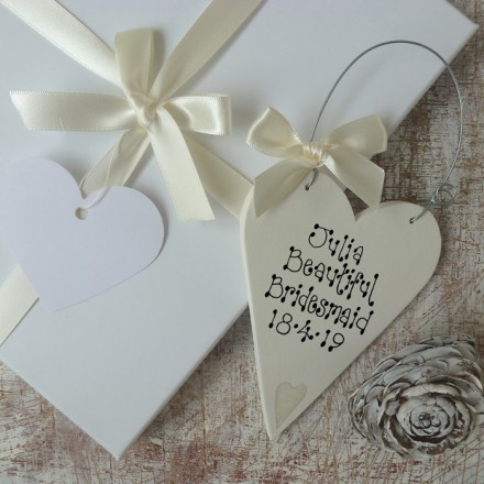 Bridesmaid Thank You Gift Box