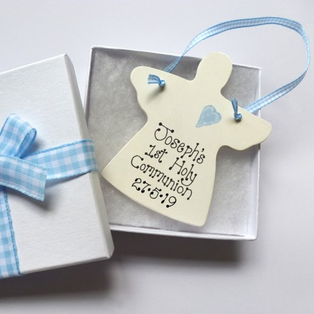Personalised Angel Holy Communion Gift