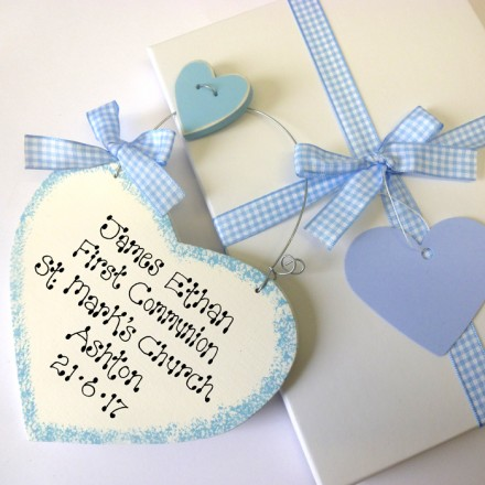 Boys Personalised Holy Communion Gift Box