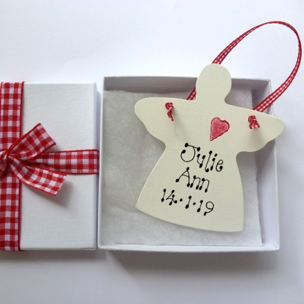 New Baby Personalised Angel Gift