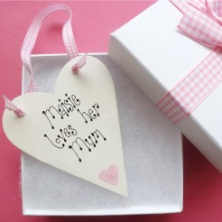 Personalised Mother's Day Love Token
