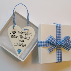 Personalised Teachers Gift Token
