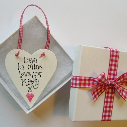 Valentine Personalised Love Token